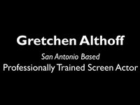 Gretchen Althoff Acting Reel