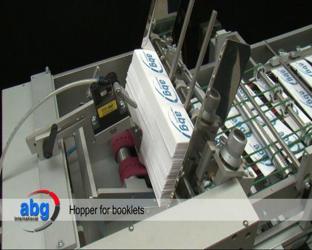 B5010 BOOKLET INSERTION MACHINE