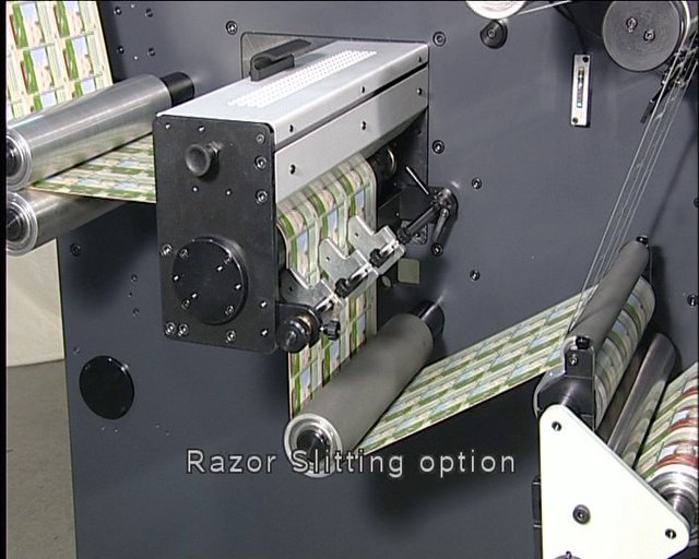 DIGICON SERIES 2 with RAZOR SLITTING OPTION