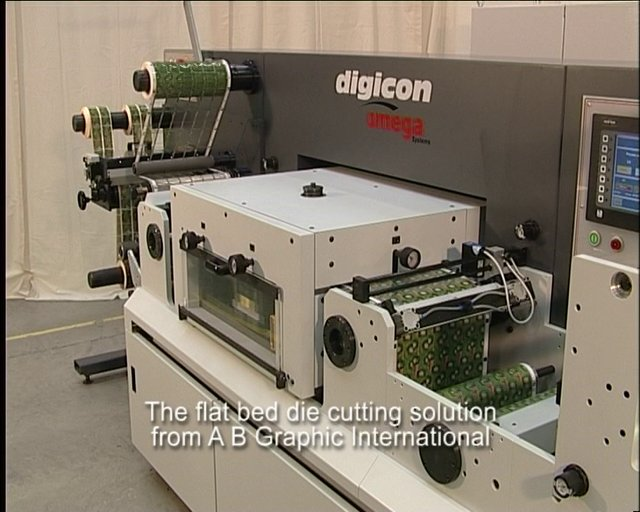 DIGICON SERIES 2 with FLAT BED DIE CUTTING SOLUTION
