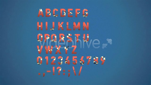 Animated Triangle Alphabet