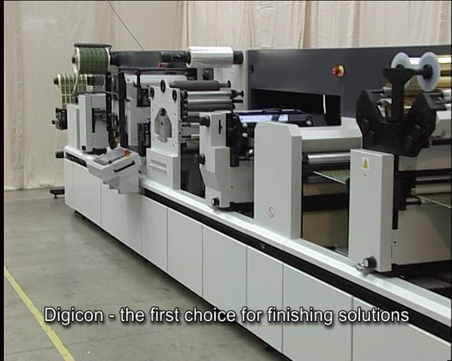 DIGICON SERIES 2 with FLAT BED FOIL AND EMBOSSING
