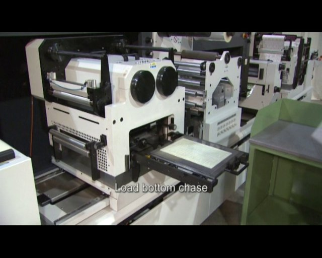 DIGICON SERIES 2 with FLAT BED FOILING & EMBOSSING  AND SEMI ROTARY DIE CUTTING
