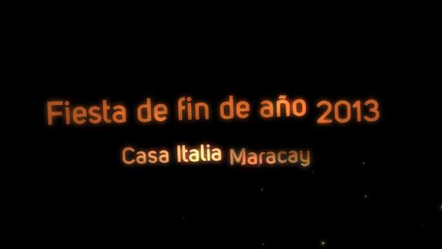 Fiesta de fin de a o casa italia maracay 2013 on vimeo - Casa para fin de ano malaga ...