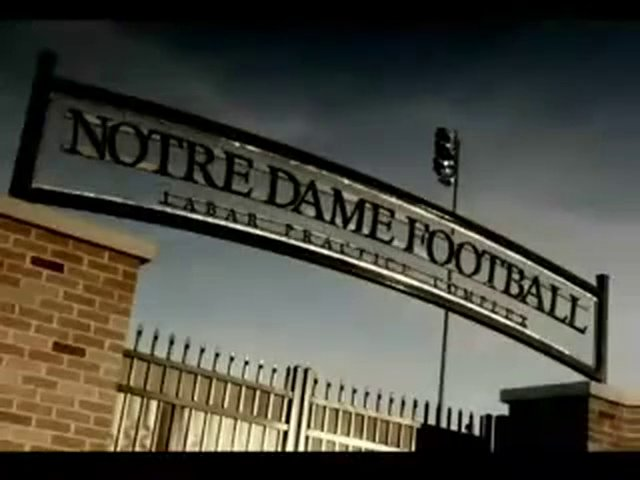 ESPN Notre Dame Narration