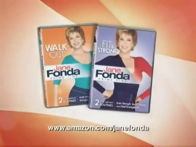 Jane Fonda Workout Commercial