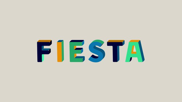 Fiesta – Animated Typeface
