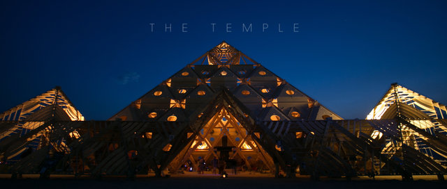 The Temple (Filmed at Burning Man)
