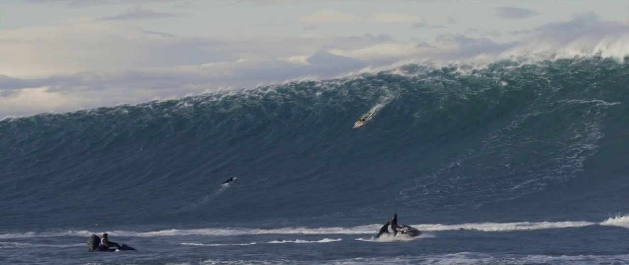 Image video Belharra rencontre le tempête Hercules