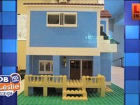 Lego house Replica and Jim Mann's Car Replica