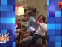 Man's Classic Reaction to Surprise Christmas Gift