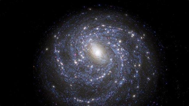 "Clip From ""Dark Universe"" | Hayden Planetarium,  American Museum of Natural History"