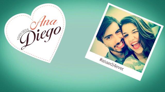 Save The Date #anaedi4ever Ana & Diego Wedding