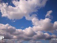 青空と雲の微速度撮影 空のみ