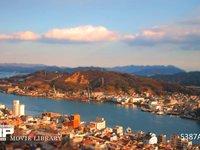 尾道 ジオラマ風微速度撮影 尾道市をミニチュアシティージオラマ風に撮影