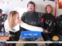 Gabby Gifford Skydiving to Celebrate Life