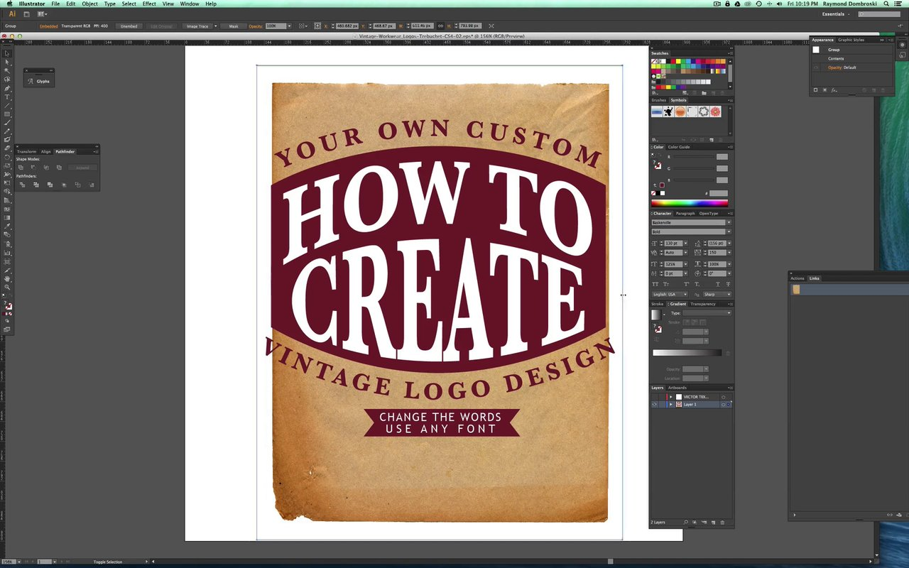 How to make vintage photos in photoshop 6.0