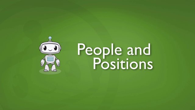 Setting Up People For Positions