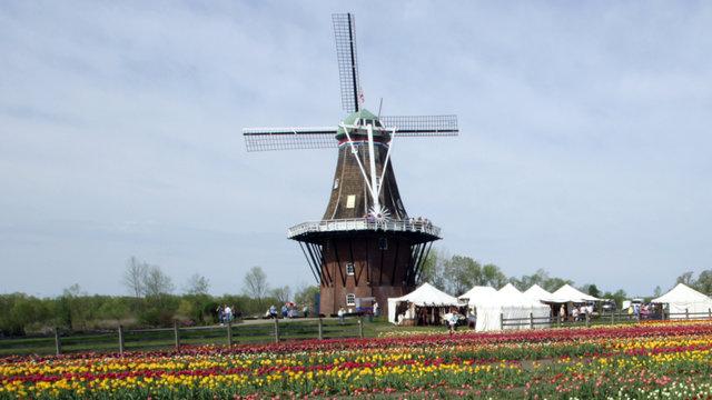 Windmill Island Gardens Holland Mi Story Of The Dezwaan Windmill Long Version 720p
