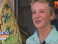 Teen Surfer Saves Life of a Drowning Honeymooner