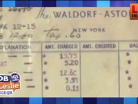 Only $15.75 for this Couples 66th Anniversary at The Waldorf