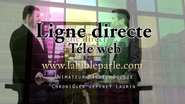Ligne directe  16 janvier 2014 - L'Évangile de Jean ch. 9.13-23