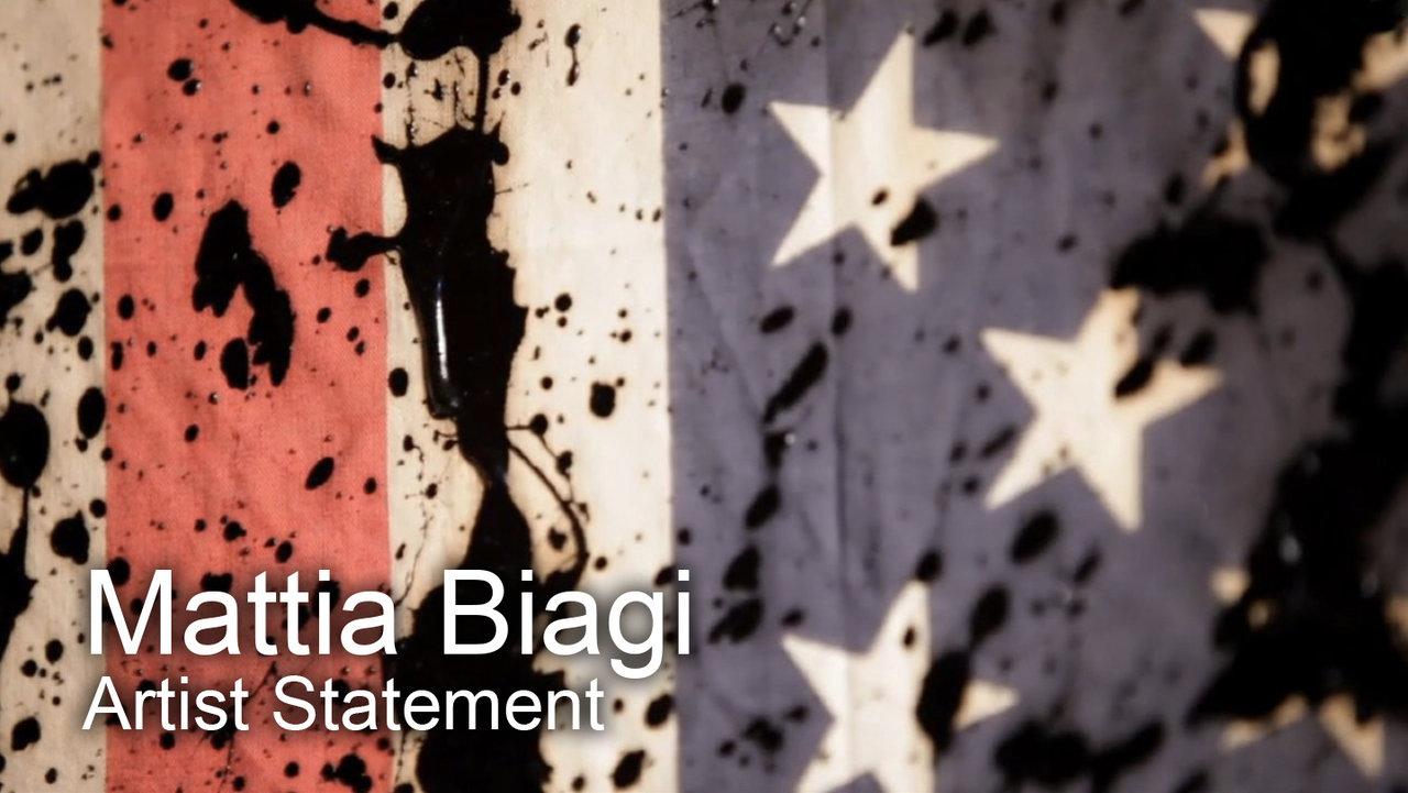 Mattia Biagi Black Tar Art