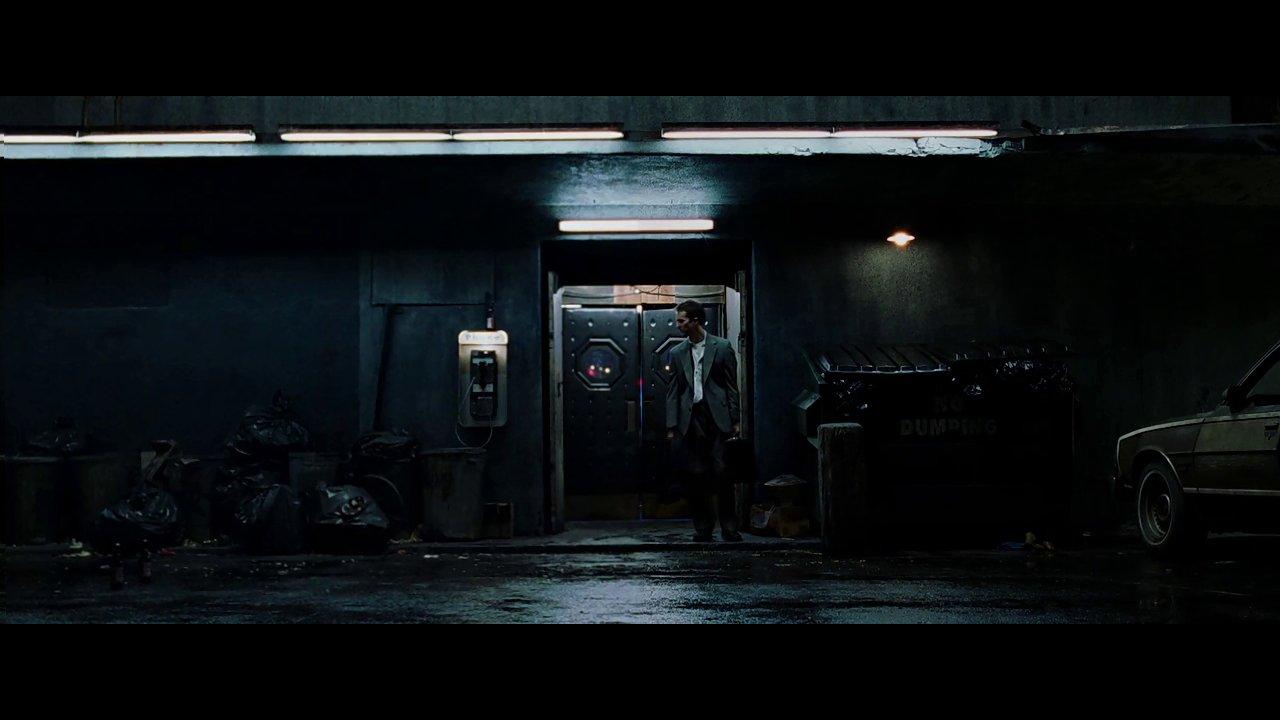 Fight Club Scene With Tyler Durden Digitally Removed 0