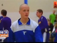 Teen Battling Cancer Told He can't Play Basketball, So the Students Stepped In