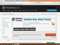 Video Tutorial - Author Box After Posts WordPress Plugin
