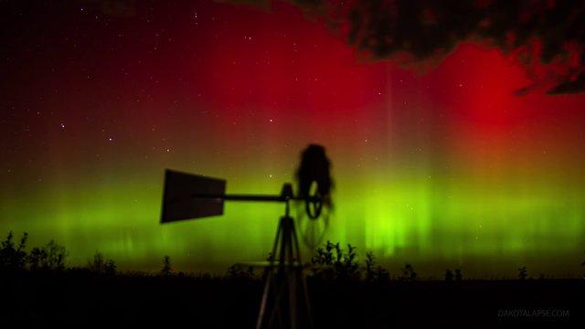 Le Dakota du sud en time lapse