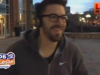 Danny Gokey Downtown Greenville, SC Snowball Fighting
