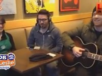 Danny Gokey Downtown in Starbucks with Impromptu Concert