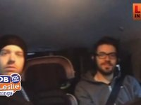 Danny Gokey Tells us About the Weather and Roads on his way into the Studio