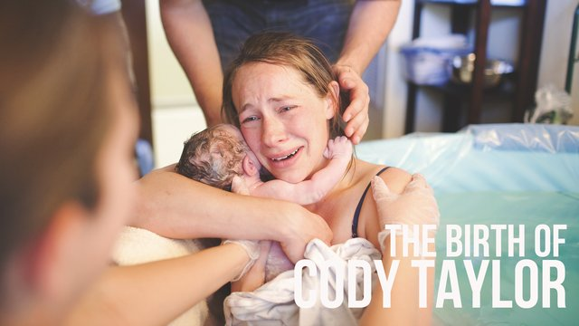 The birth of Cody Taylor | Waterbirth at Mountain Midwifery