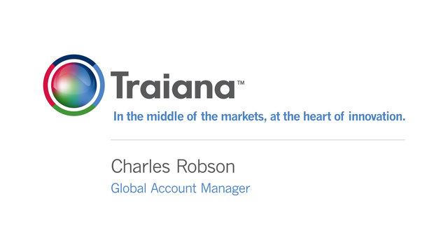 Traiana - Charles Robson