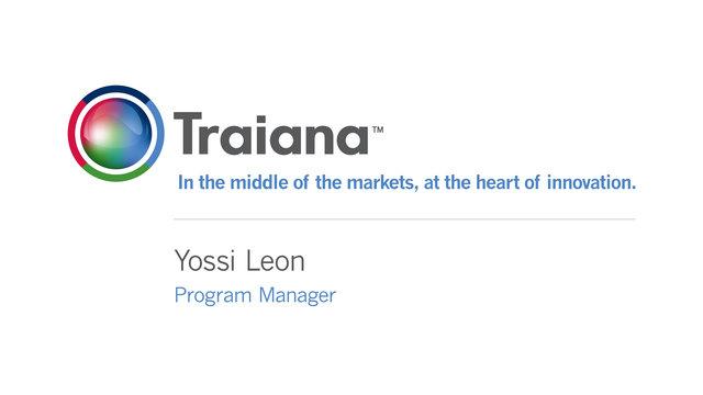 Traiana - Yossi Leon