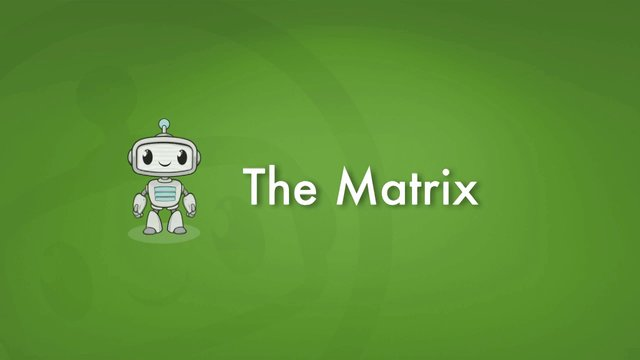 Matrix 2.0 Tutorial