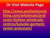 Baiyoke Garment Centers Pratunam Wholesale Shopping