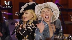 Miley Cyrus feat. Madonna - Dont Tell Me/We Cant Stop
