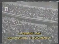 Inauguración de La Monumental Plaza de Toros México