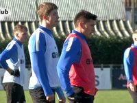 Eerste training Castillo (4 februari 2014)