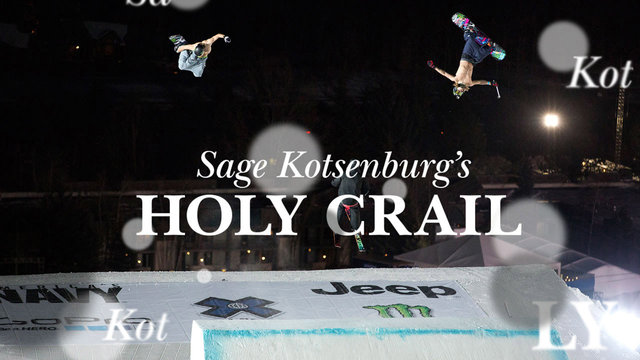 Sage Kotsenburg's 'Holy Crail' - X Games with Hall.. 2