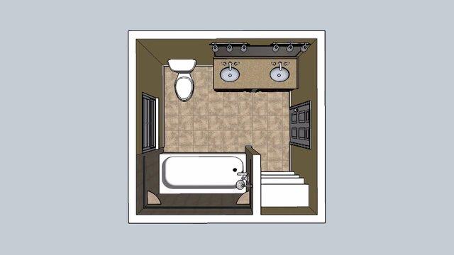 Suber bathroom cad design mastercraft kitchen bath for Bathroom cad design