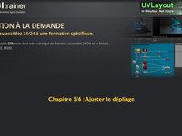 05 - Ajuster le depliage UV