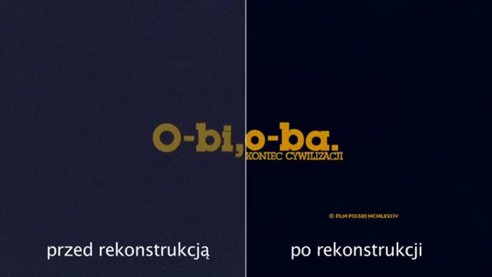 O-bi, o-ba: Koniec cywilizacji - materiał porównawczy