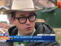 A Professor Will Be Living in a Dumpster For a Year