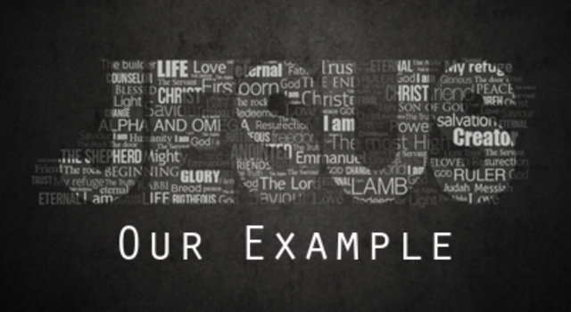 follow jesus as your example Read about dr john barnett - what does it mean to follow jesus and following jesus grow in your understanding of the christian faith.