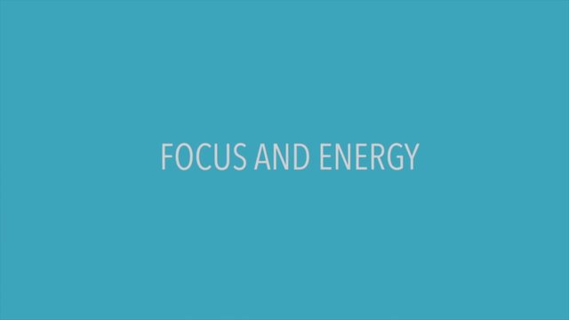 Focus And Energy Optimizer