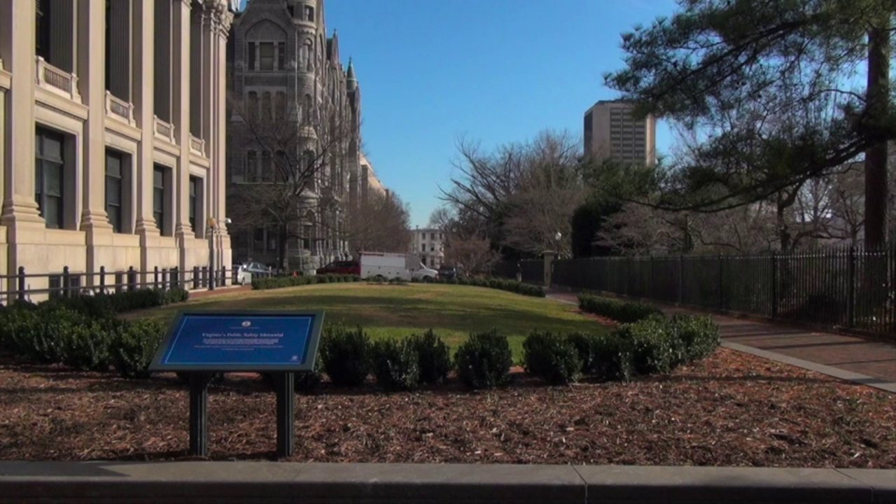 Free Stock Footage - Virginia General Assembly Building Entrance ...: vimeo.com/86581391